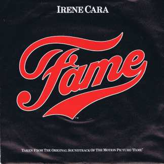 Irene Cara – Fame - RSO 90 - Picture Sleeve - 7-inch Vinyl Record