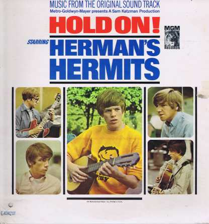 Herman's Hermits – Hold On! - E/SE4342 ST - LP Vinyl Record
