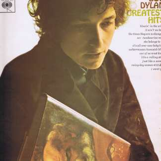 Bob Dylan - Greatest Hits - CBS 62847 - Stereo LP Vinyl Record