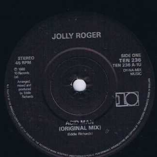 Jolly Roger - Acid Man - TEN 236 - 7-inch Vinyl Record