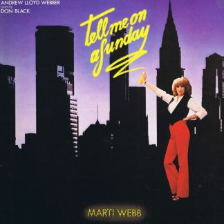 Marti Webb – Tell Me On A Sunday – POLD 5031 – LP Vinyl Record