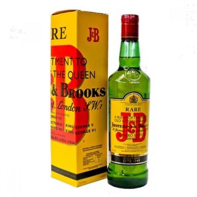 J&B rare scotch whiskey,750ml - Waxwi