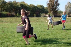 Outdoortraining kids Zeewolde