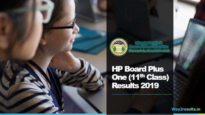 HP Board Plus One 11th Class Result 2019