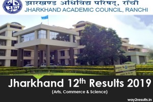 JAC 12th Results 2019 - Check Arts, Science & Commerce @ jacresults.nic.in