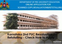 Karnataka 2nd PUC Revaluation Retotalling - Check How to Apply