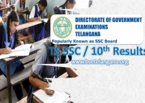 TS 10th Class Results - bsetelangana.org