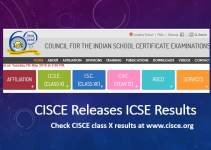 CISCE Releases ICSE Results for Class 10th at www.cisce.org