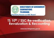 TS 10th Revaluation, Recounting, Re-Verification, Fee, Process, Dates