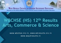 WB HS Results - Arts, Commerce & Science Groups