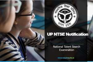 Uttar Pradesh NTSE Notification