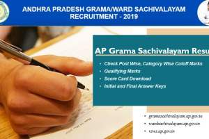 AP Sachivalayam Results 2019 - List of Selected Candidates