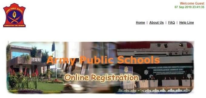 Army Public School Recruitment 2019