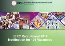 JEPC Recruitment 2019 - 101 Vacancies