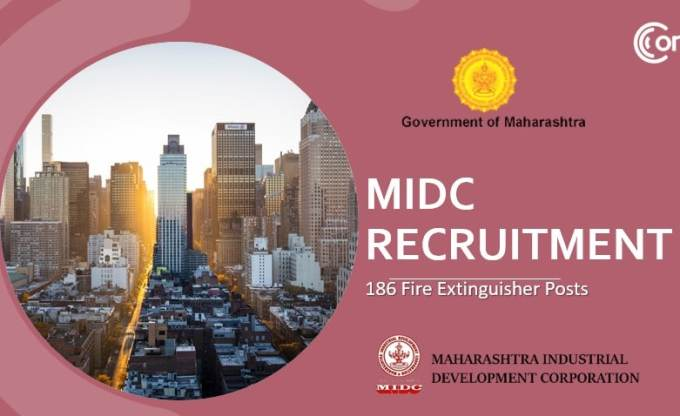 MIDC 186 Fire Extinguishers Recruitment 2019