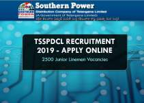 TSSPDCL 2500 JLM Recruitment 2019