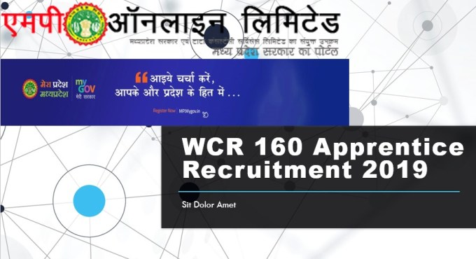 WCR 160 Apprentice Recruitment 2019
