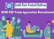 SECR 432 Trade Apprentice Recruitment 2020