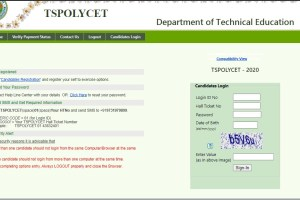 TS POLYCET 2020 College Seat Allotment Order Download