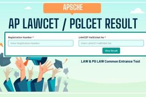 AP LAWCET Result
