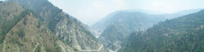 Panoramic view, Dam, Kashmir
