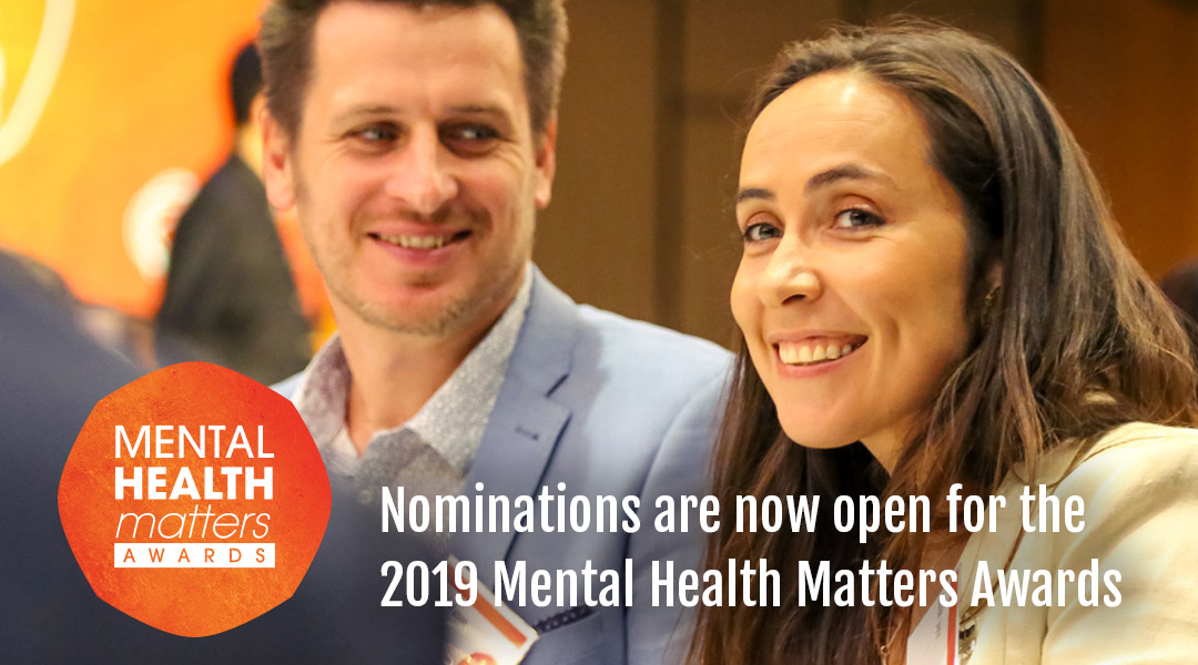 Nominations are now open for the Mental Health Matters Awards 2019