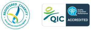 Registered Charity and QIC logos