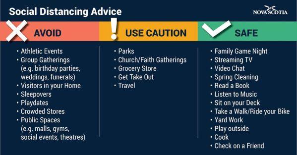 Social Distancing Advice