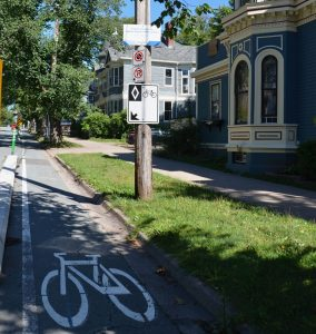 Bike Lane on South Park