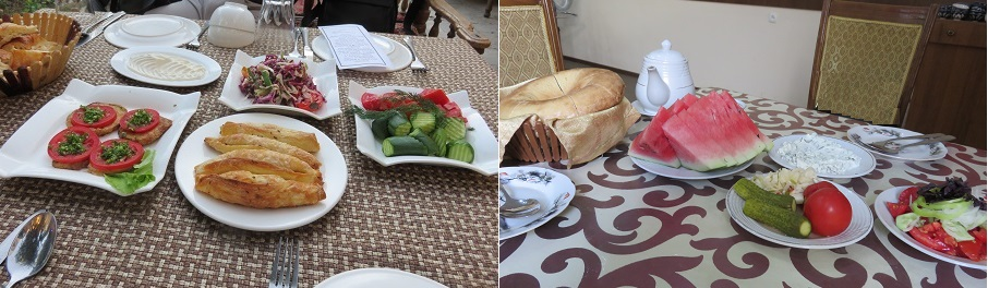 ウズベキスタンで食べたサラダ