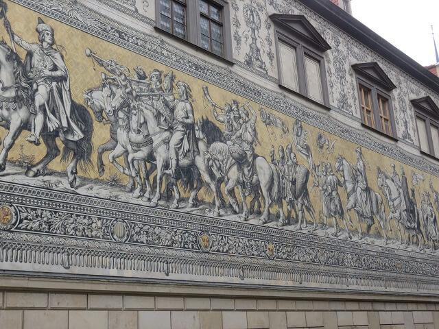 ドレスデンの君主の行列