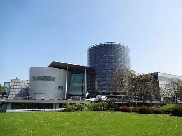ドレスデンのフォルクスワーゲン工場