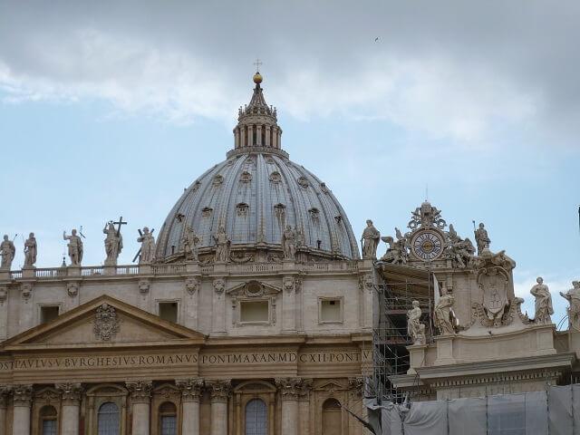 ローマ・バチカン市国のサンピエトロ大聖堂