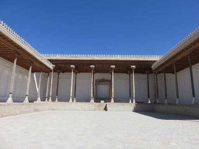 ブハラのアルク城の謁見の間