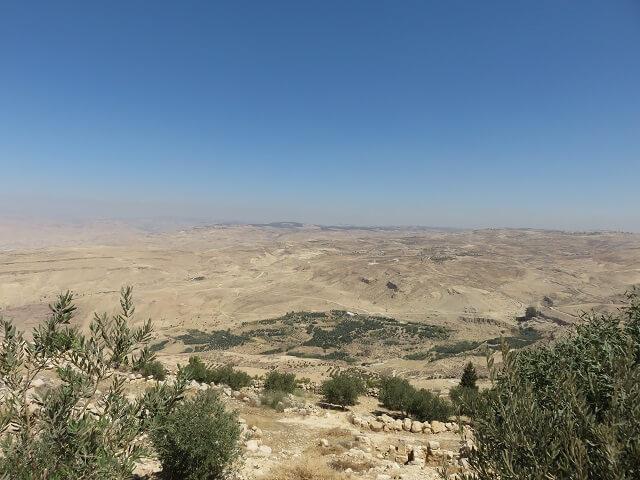 ヨルダンのネボ山