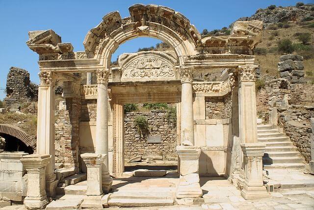 トルコのエフェソス遺跡