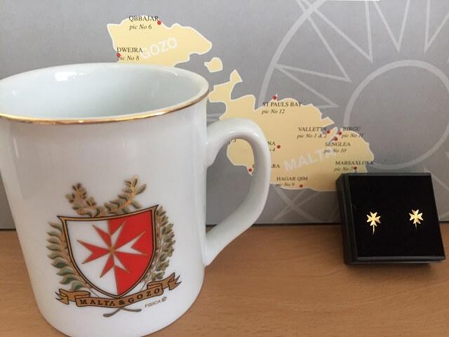 マルタで購入したマルタ十字のお土産