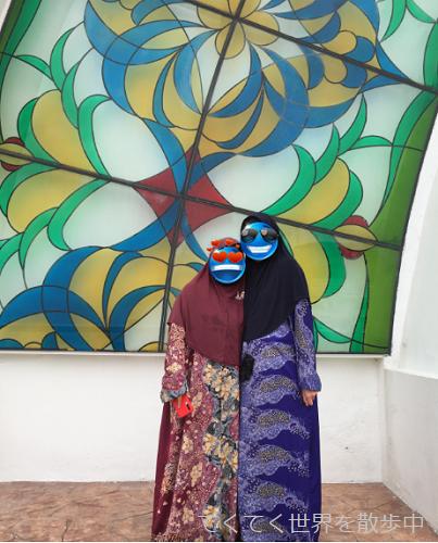 マレーシア・マラッカの水上モスク