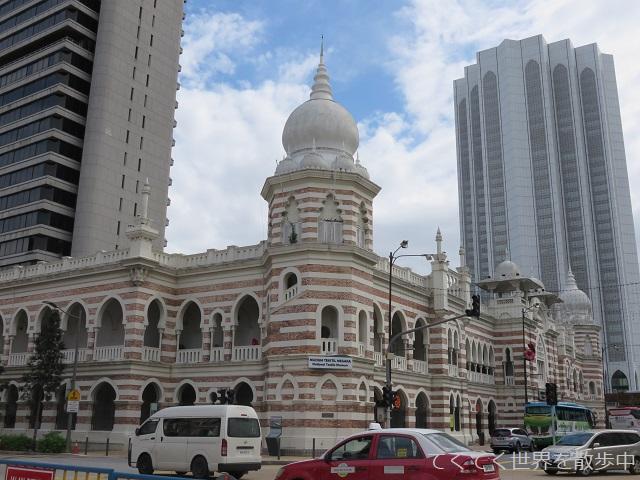 マレーシア・クアラルンプールの国立テキスタイル博物館