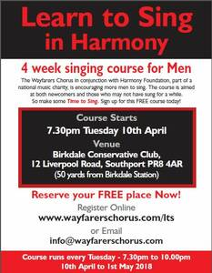 Wayfarers Learn To Sing Course