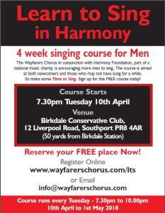 Wayfarers Learn To Sing Course