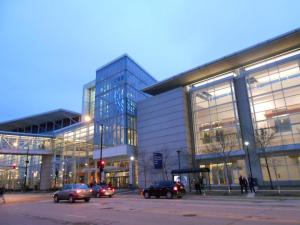 this is only one small side of McCormick Place