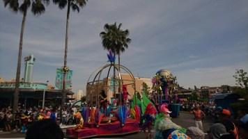The 15th anniversary parade