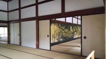 Cloud dragon painted by Wakasa Butsuga in 1957