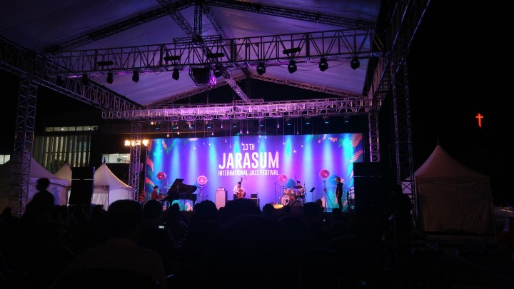 Surviving Jarasum's International Jazz Festival