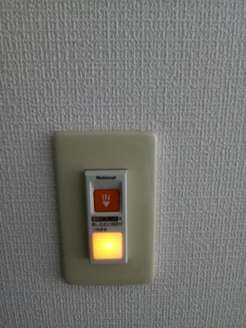 "A button with a light that says ""In"" I thought this was an actual button and didn't want to touch it for fear of calling room service or setting off an alarm"