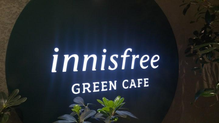 Innisfree Green Cafe 이니스프리 명동점