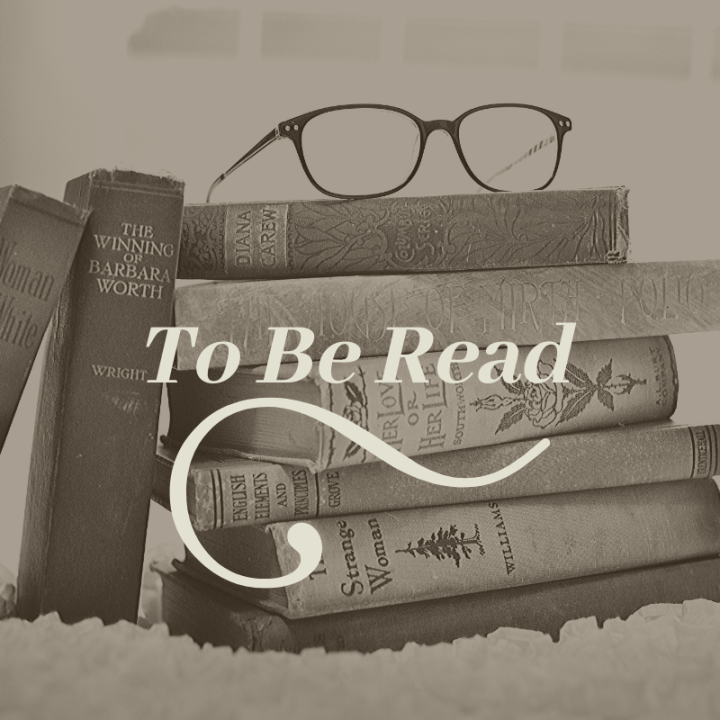 This month's TBR