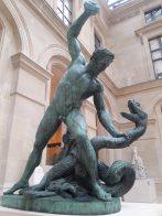 Hercules Wrestling Achelous Room 105, Richelieu wing