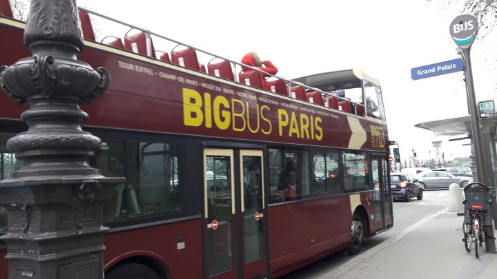 Big Bus Paris Classic Hop on Hop off bus